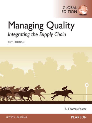 Managing Quality: Integrating the Supply Chain, Global Edition