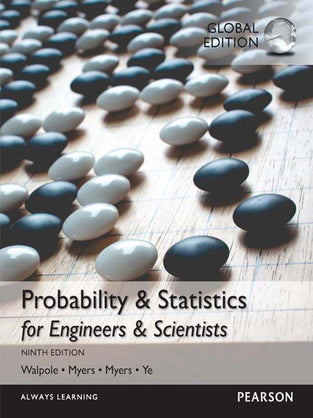 Probability & Statistics for Engineers & Scientists, MyStatLab, Global Edition