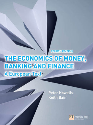 Economics of Money, Banking and Finance