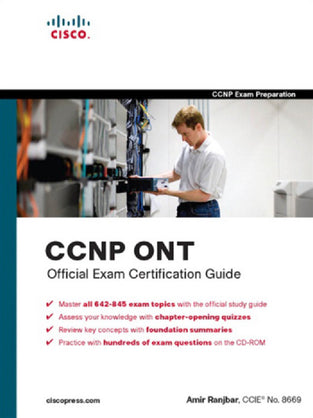 CCNP ONT Official Exam Certification Guide (642-845) (With Cd) (Cisco Press)