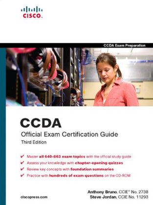 CCDA® Exam Certification Guide, 3/E (640-863) (With Cd) (Cisco Press)