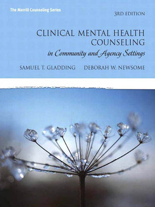 Clinical Mental Health Counseling In Community and Agengy Settings