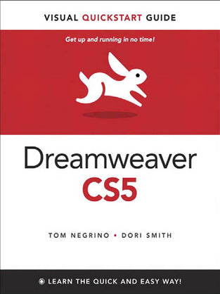 Dreamweaver CS5: Visual QuickStart Guide