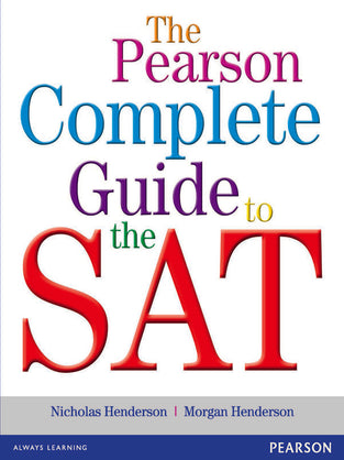 Pearson Complete Guide to the SAT, The