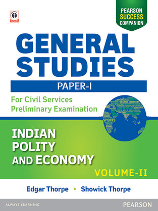 General Studies Paper I: For Civil Services Preliminary Examination 2016, Vol.- 2
