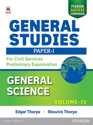 General Studies Paper I: For Civil Services Preliminary Examination 2016, Vol.- 4