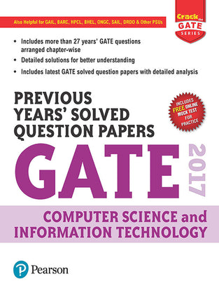 Previous Years™ Solved Question Papers GATE 2017 Computer Science and Information Technology