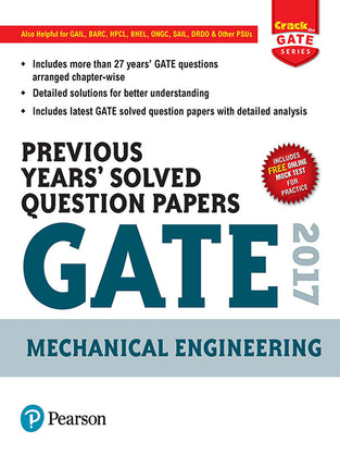 Previous Years™ Solved Question Papers GATE 2017 Mechanical Engineering