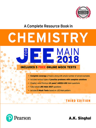A Complete Resource Book for JEE Main 2018: Chemistry