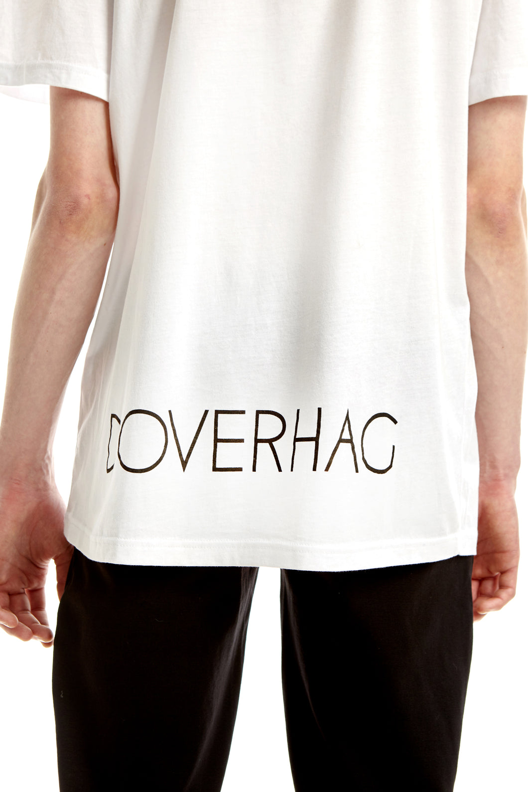 A-sleeve T-shirt, White, DOVERHAG