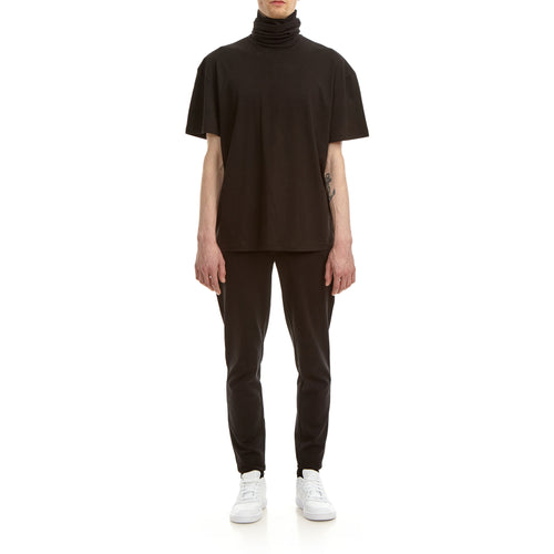 Turtle Neck T-shirt, Black