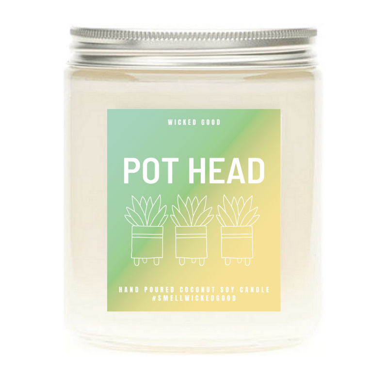 Pot Head Soy Candle