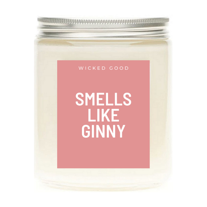Smells Like Ginny - Soy Wax Candle - Pop Culture Candle - Smells Like Candle