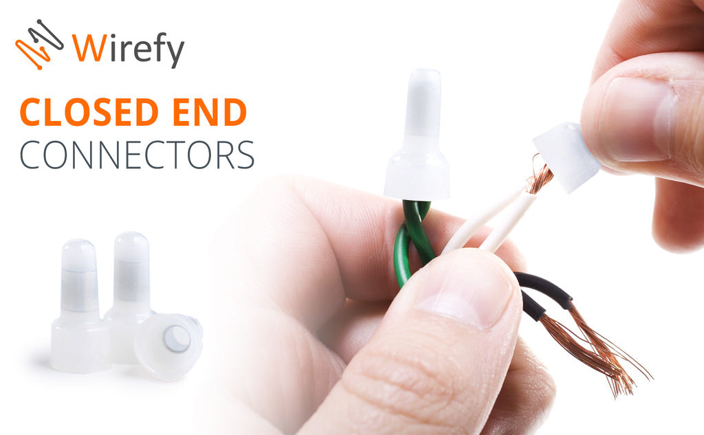 wirefy CE closed end wire cap connectors kit