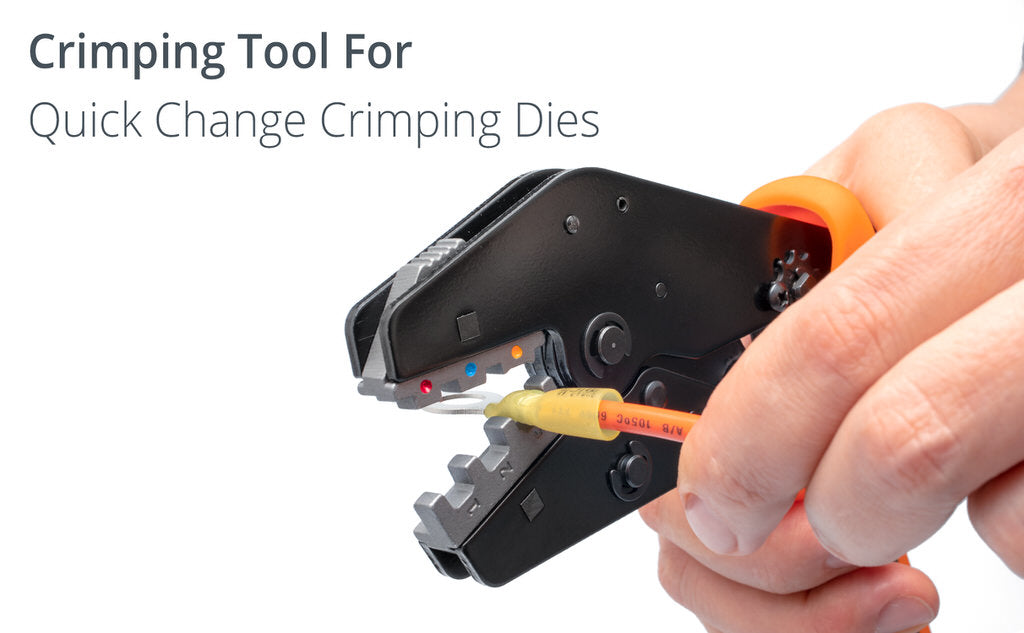 wirefy crimping tool nd no dies quick change