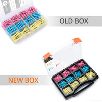 Old vs new box wirefy butt connectors kit 180 PCS