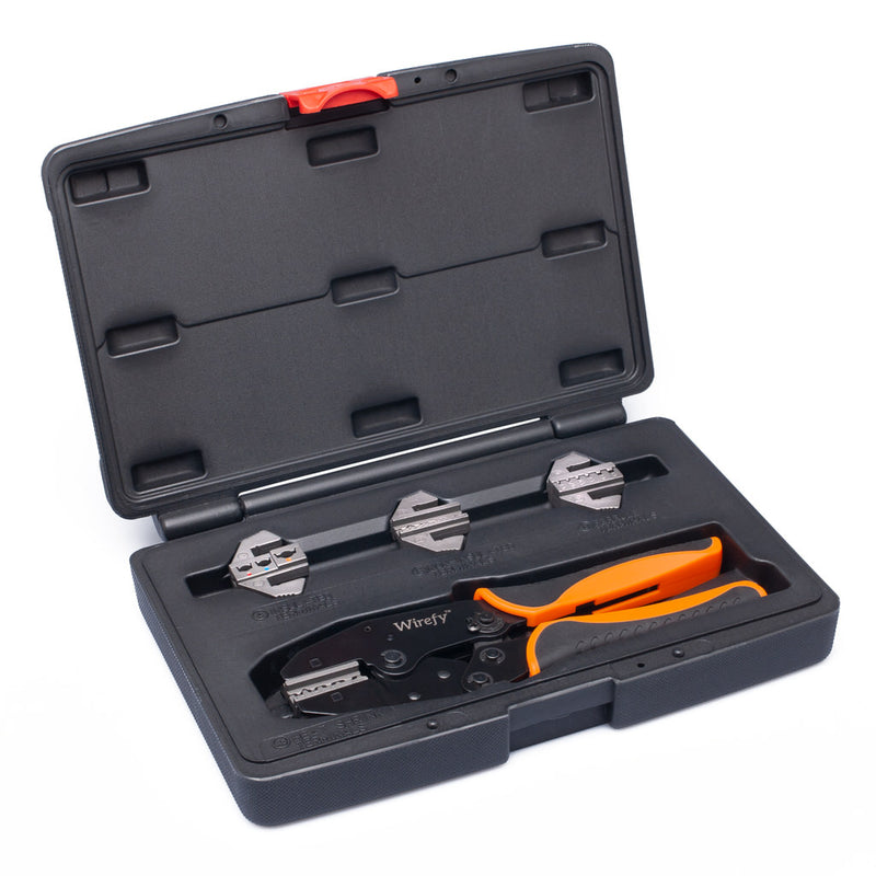 wirefy crimping tool kit 5 PCS dies boxed box set
