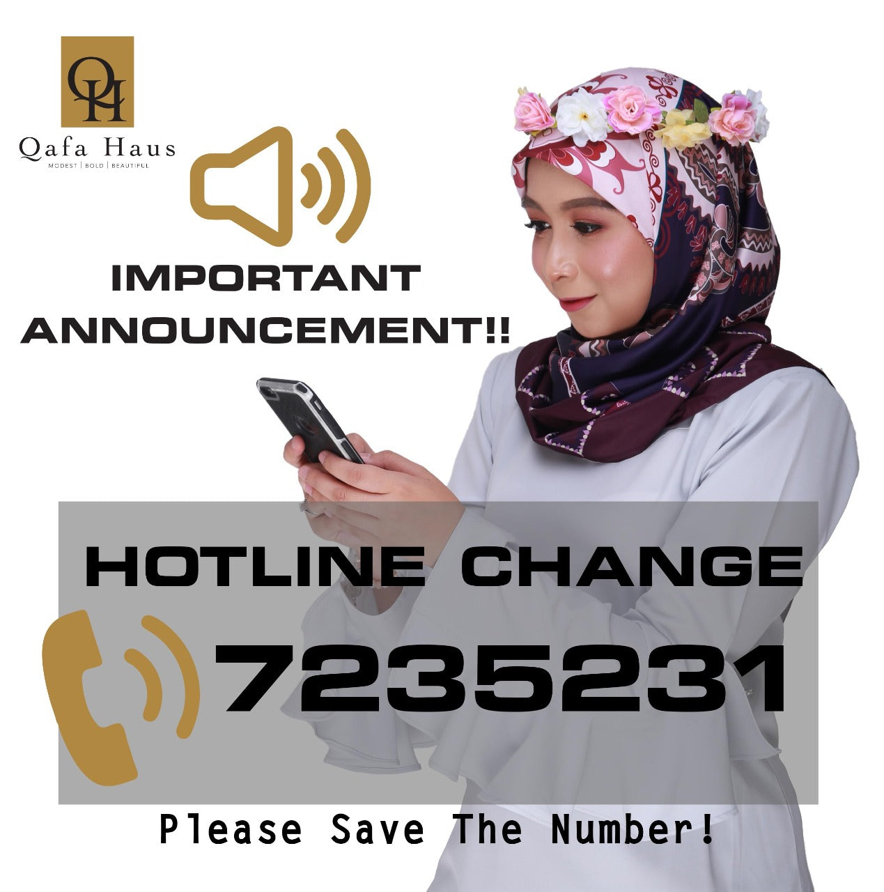 QAFA HAUS NEW HOTLINE
