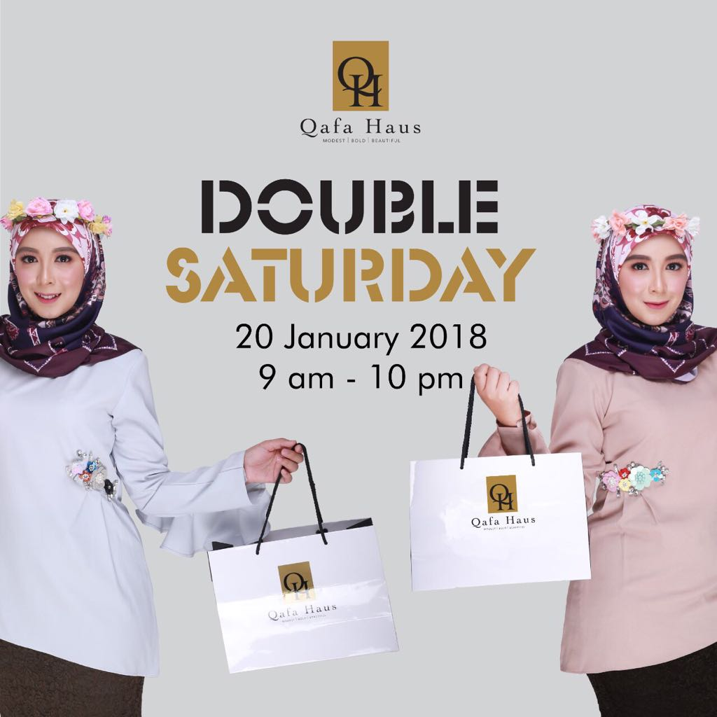 Double Saturday is BACK!