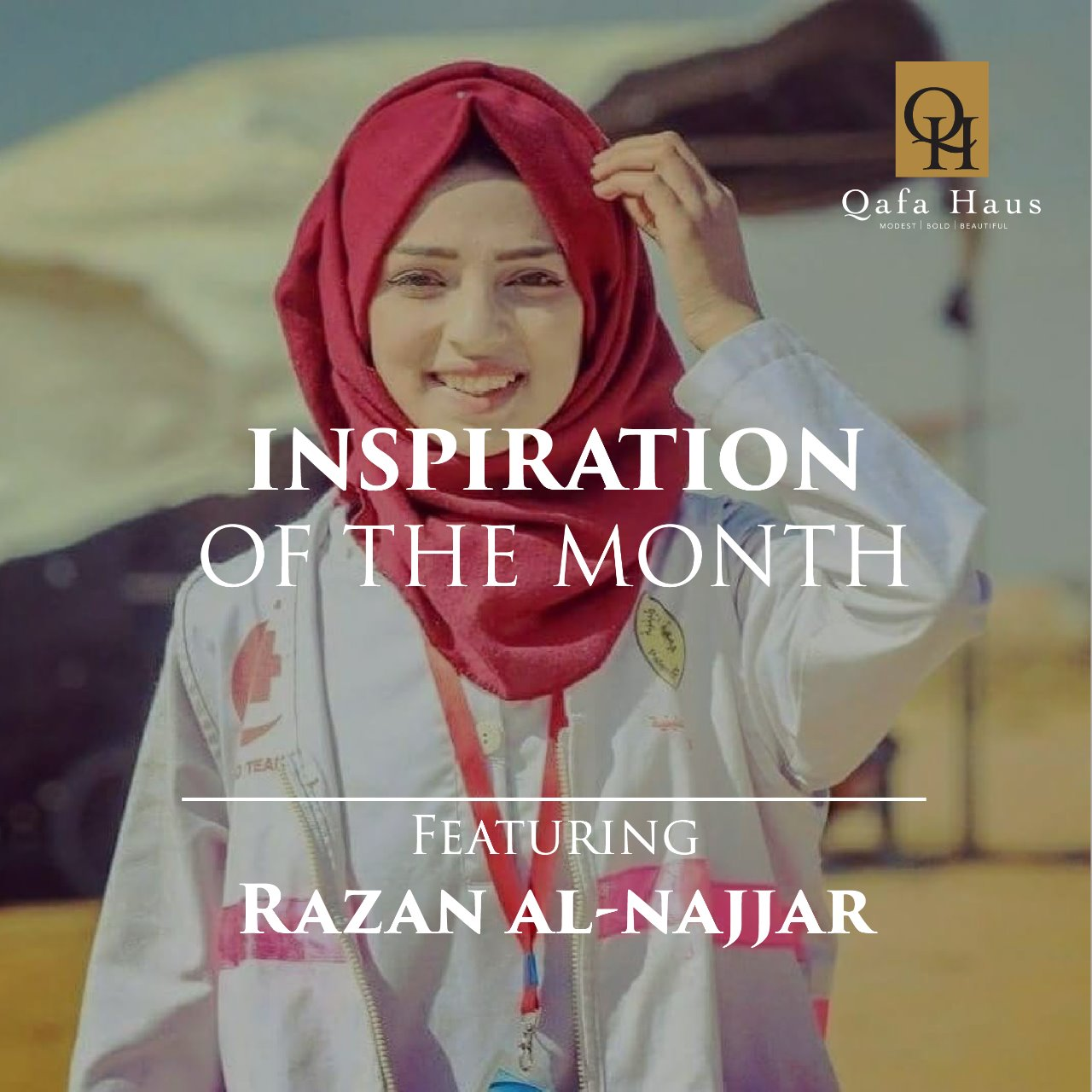 Women Inspiration Of The Month (June 2018) - Razan Al Najjar