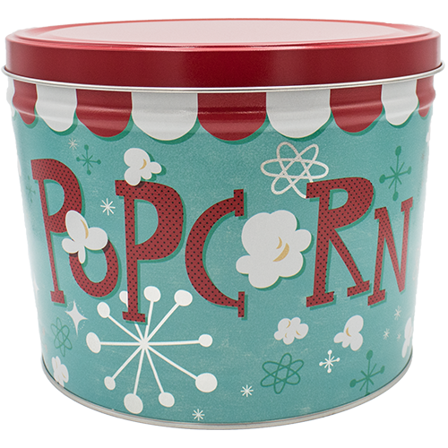 Popcorn Blast 2 Gallon Tin