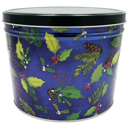 Holly & Pine 2 Gallon Tin