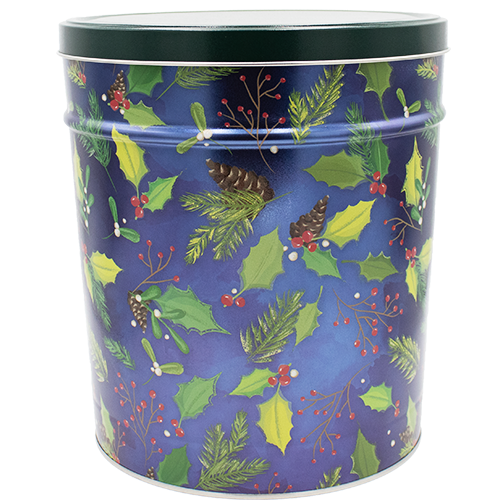 Holly Pine 3.5 Gallon Tin