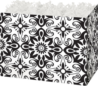 Black & White Medallions Small Gift Box