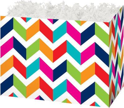 Chevron Chic Large Gift Box