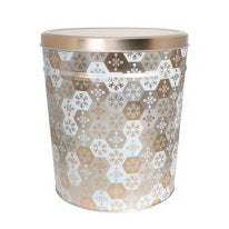 Shinning Snowflakes 2 Gallon Tin