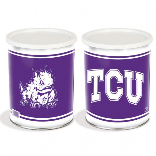 Texas Christian University 1 Gallon Tin