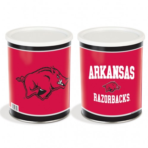University of Arkansas 1 Gallon Tin