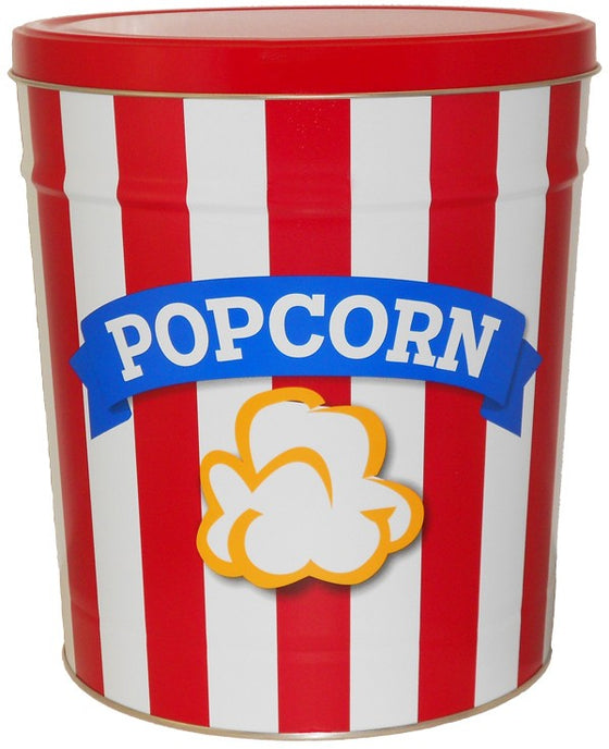 Blue Ribbon Popcorn 3.5 Gallon Tin