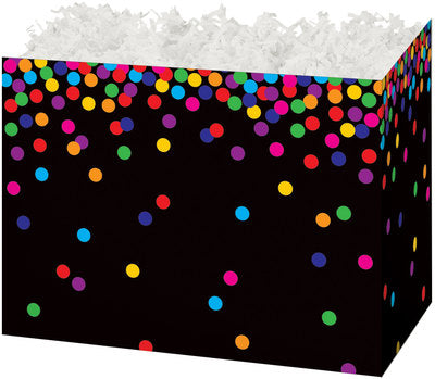Colorful Confetti Large Gift Box