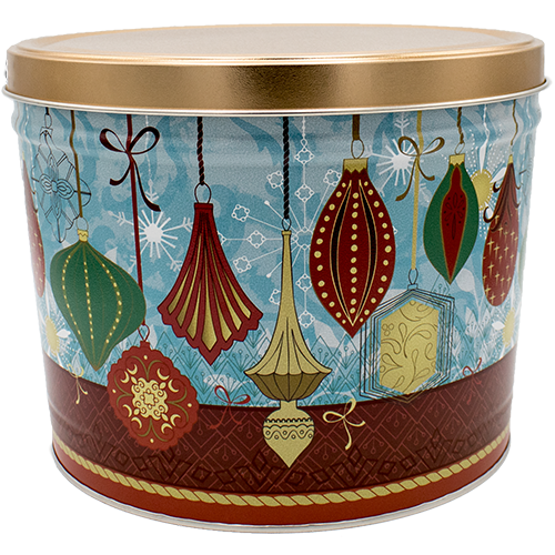 Contemporary Ornaments 2 Gallon Tin