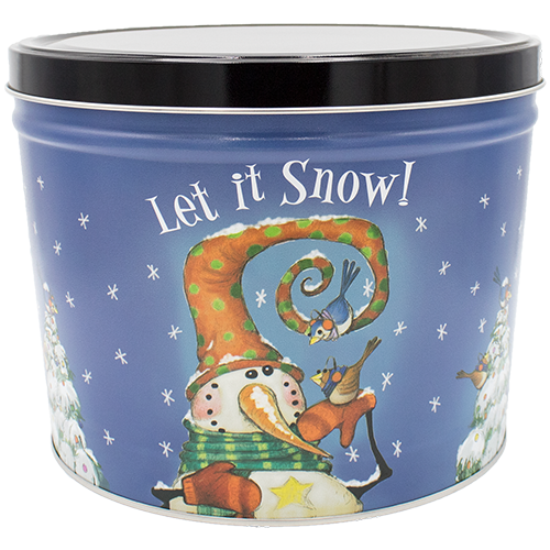 Frosty Friends 2 Gallon Tin