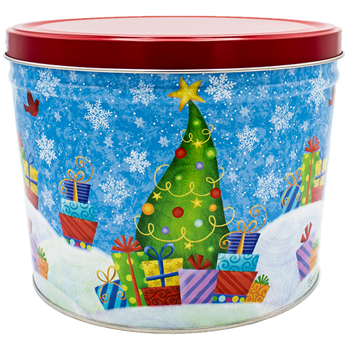 Holiday Gifts 2 Gallon Tin