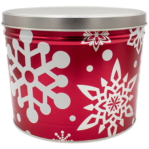 Let it Snow 2 Gallon Tin