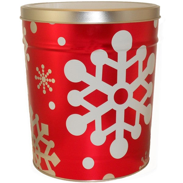 Let it Snow 3.5 Gallon Tin