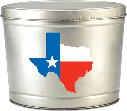 Texas 2 Gallon Tin