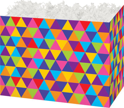 Trendy Triangles Large Gift Box