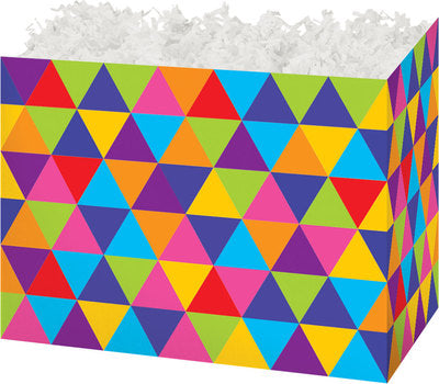 Trendy Triangles Small Gift Box