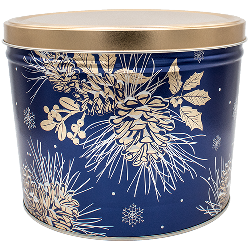 Winter Pine 2 Gallon Tin