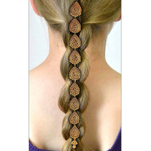 Load image into Gallery viewer, Antique Royal Choti Pieces Hair Jewelry