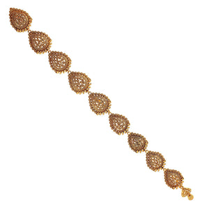 ACCHTJMS352G -AccessHer Antique Royal Choti Pieces Hair Jewelry For Women - access-her