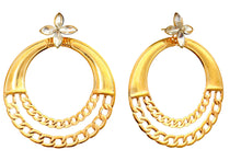Load image into Gallery viewer, designer Hoop earrings