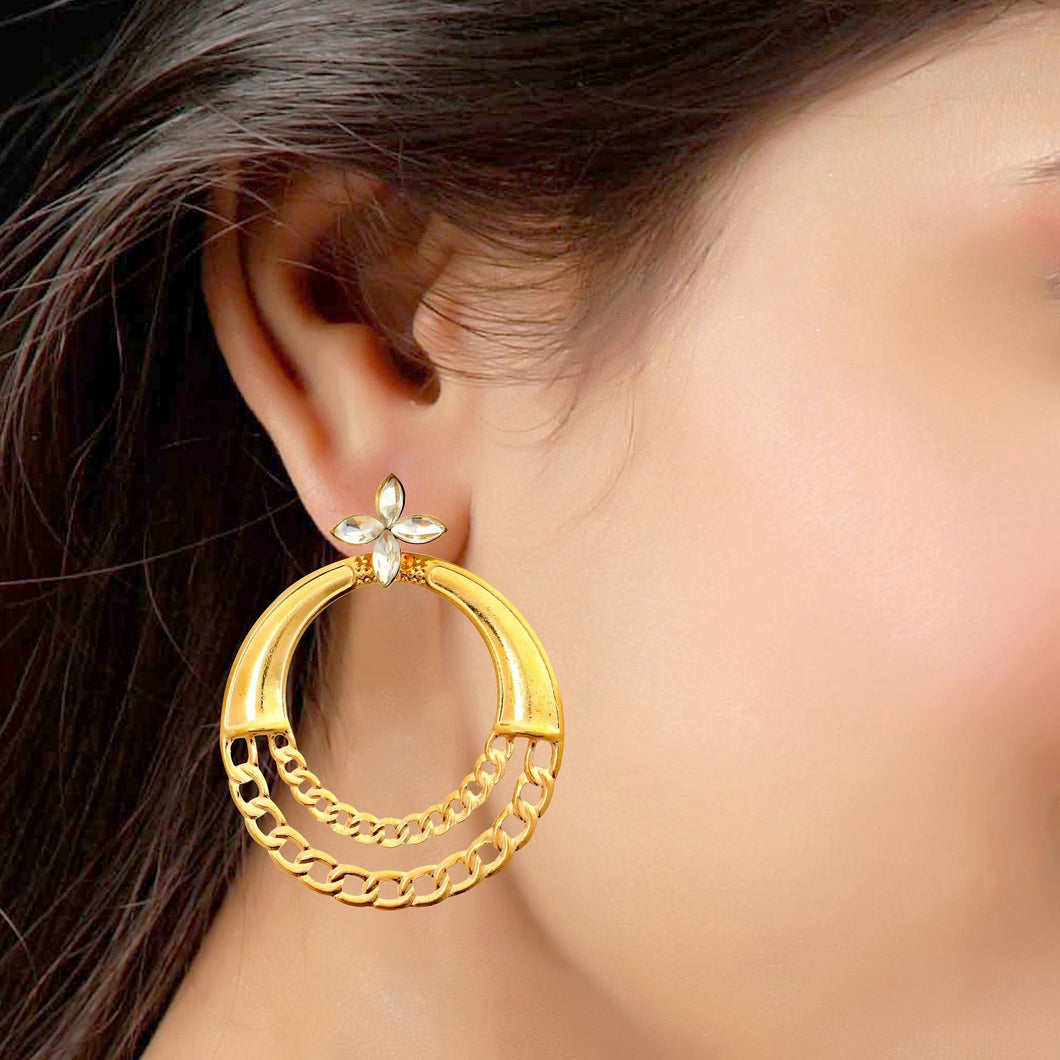 designer Hoop earrings