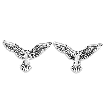 ER0619HP160S3-AccessHer 92.5/925 Sterling Silver Phoenix Bird stud earrings for women and girls