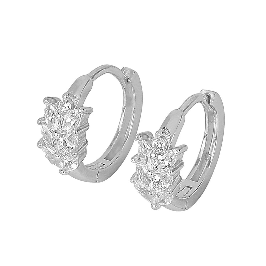 er0619hp460s-925-sterling-silver-cz-stone-bali-hoop-earrings