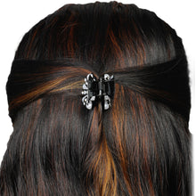 Load image into Gallery viewer, HP0518LP153BW -Accessher Studed Butterfly Hair Clip with Cubic Zirconia for Womens and Girls